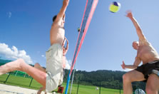 Beachvolleyball in Flachau